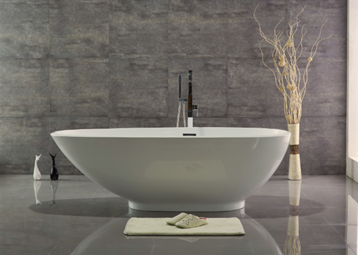 1900mm Freestanding Pedestal Tub , American Standard Freestanding Tub With Faucet