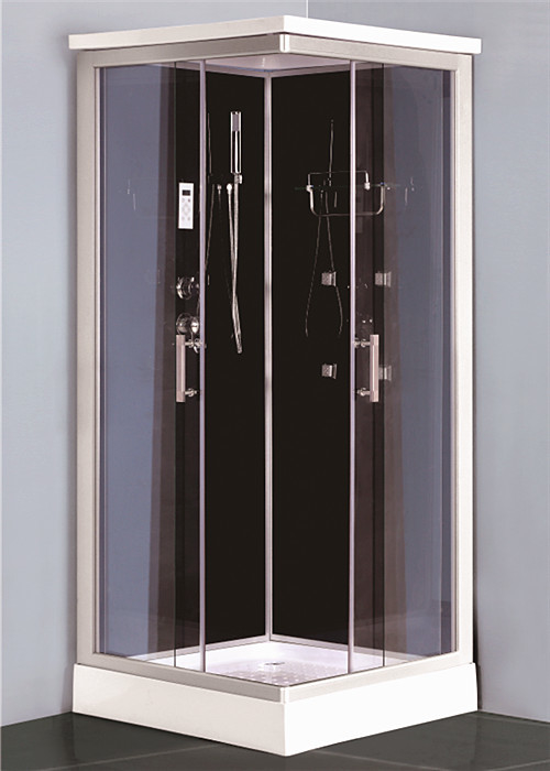 Fashion Modular Rectangular Shower Stalls , Power Double Shower Enclosure