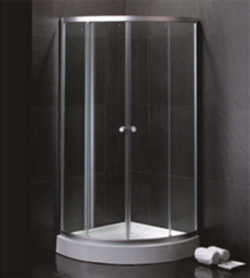 800 X 800 Quadrant Shower Enclosures And Tray With Magnetic Stripes Ss Sliding Handle