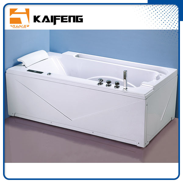 Apron Front Rectangular Home Jacuzzi Bathtub , Jacuzzi Jetted Bathtubs Comfortable